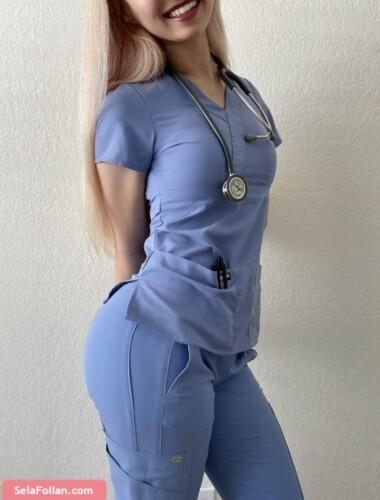 Enfermera Culona Te Volvera Loco